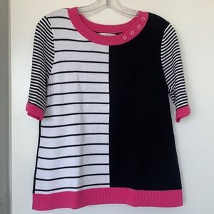 Christopher & Banks Cotton Sweater Top